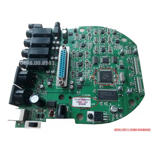 Mạch điện hộp tiếng trống điện tử Medeli DD512