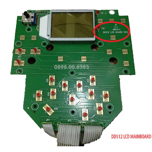 Mạch màn hình LCD trống điện tử MEDELI DD512