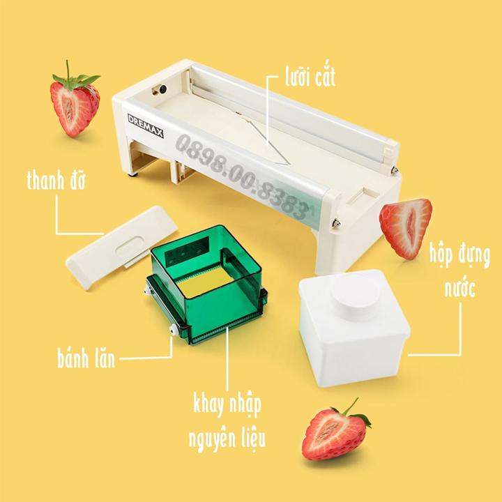 Máy cắt lát hoa quả DREMAX-005