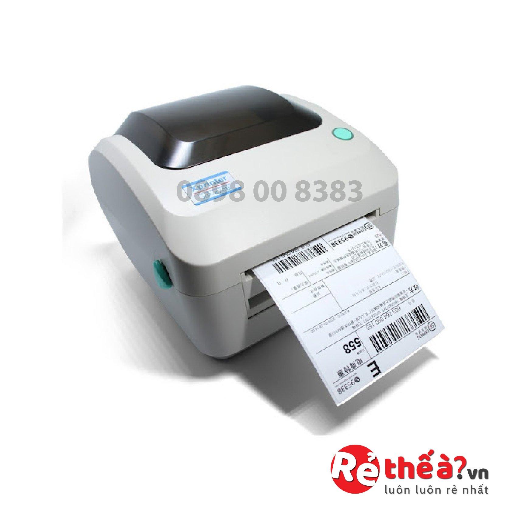 Máy in tem mã vạch Xprinter XP 470B