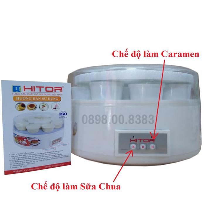 Máy làm caramen và sữa chua HITOPS-HT83