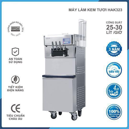 Máy làm kem tươi HAK-323