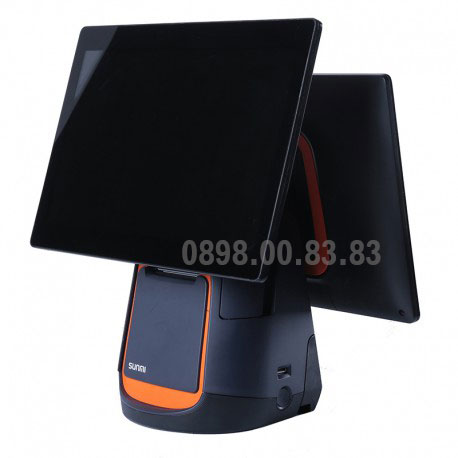 Máy POS tính tiền cảm ứng SUNMI-T1-2 màn hình