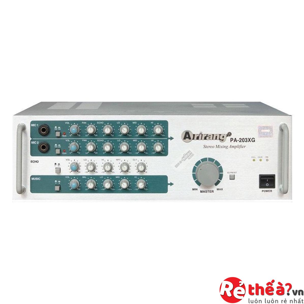 Máy tăng âm Amply Arirang PA-203XG