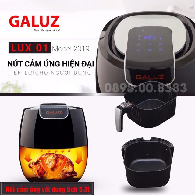 Nồi chiên không dầu Galuz 5.3L LUX-01