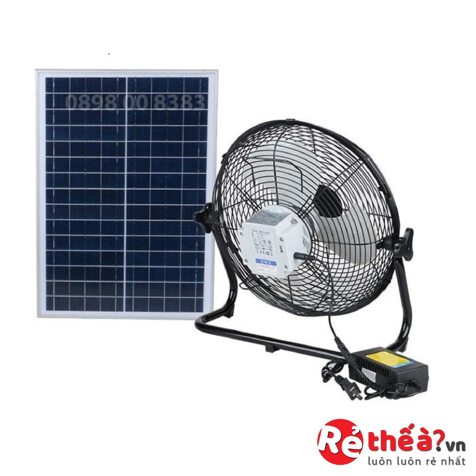 Quạt tích điện năng lượng mặt trời JINDIAN JD-S8800