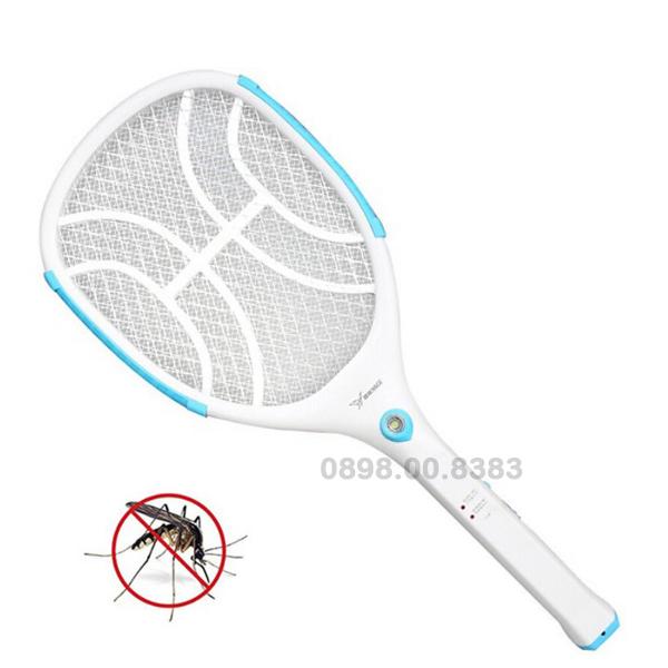 Vợt muỗi cao cấp YAGE-YG-5620 sạc liền có vành nhựa quanh lưới