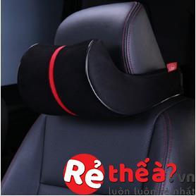 Bộ tựa lưng và gối đầu ghế ô tô ACIOOCO cao cấp