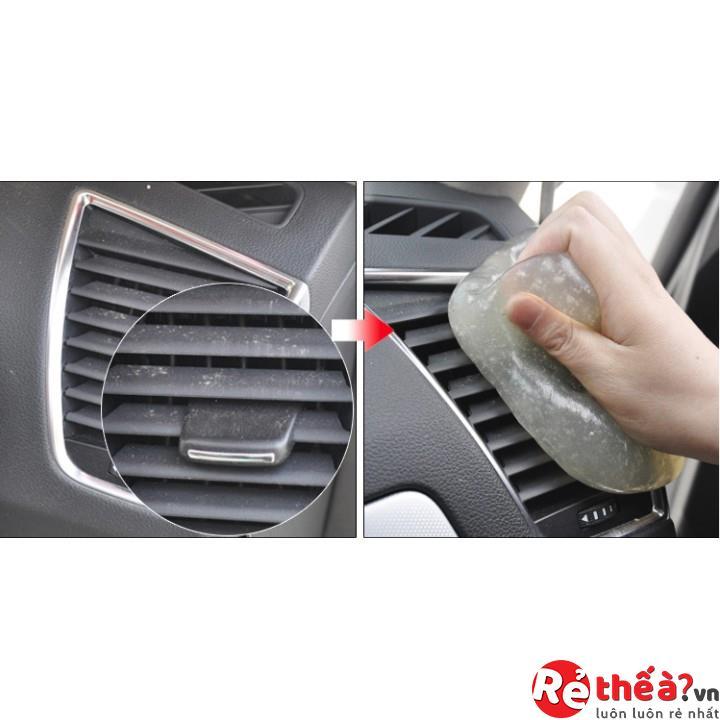 Bọt MOMO làm sạch nội thất xe ô tô, phù hợp với mọi chất liệu và bề mặt