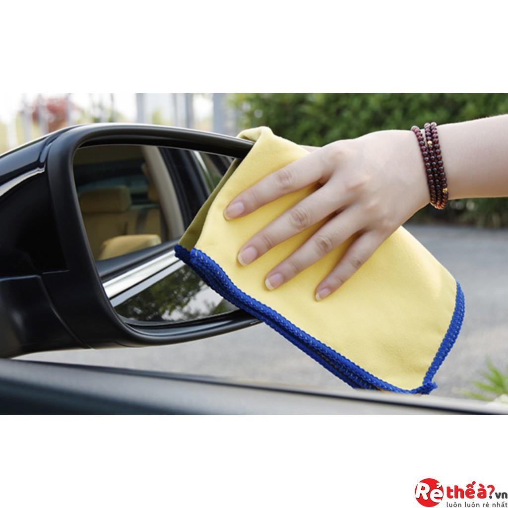 Combo 2 khăn lau nội thất ô tô cao cấp MICHELIN
