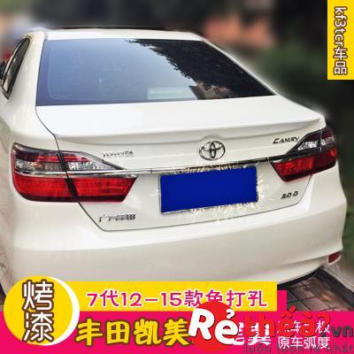 Đuôi Gió Toyota Camry không đèn led – đồ chơi Camry để độ xe đời 2012 - 2015