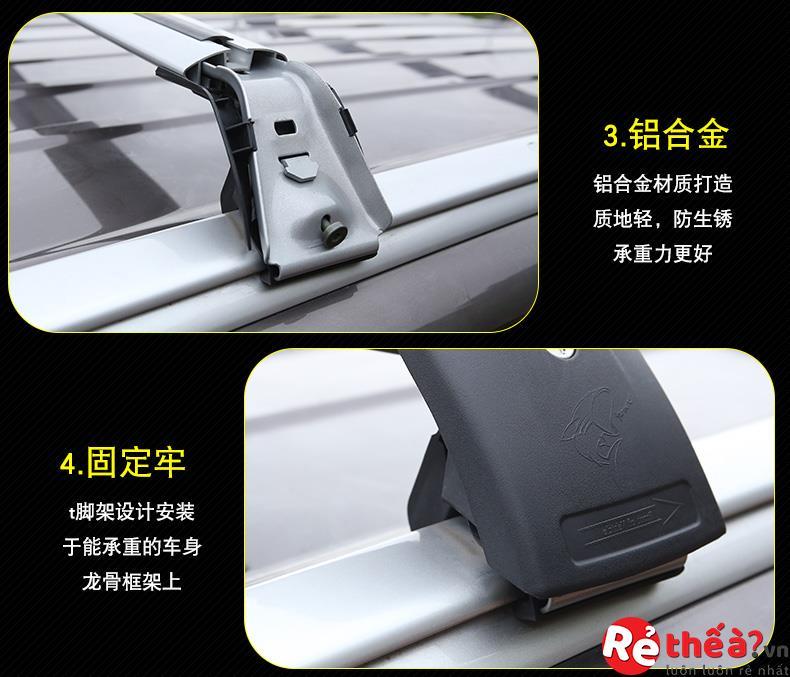 Hộp đựng hành lý và Giá nóc Mitsubishi Outlander 2014-2018