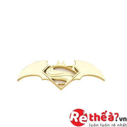Logo Batman kim loại cao cấp - Trang trí xe ô tô đẳng cấp