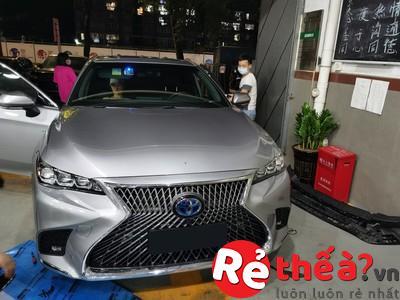 Mặt Ca Lăng LEXUS ES để độ xe TOYOTA CAMRY 2019 bản form Đồng Hồ Cát Tiêu Chuẩn