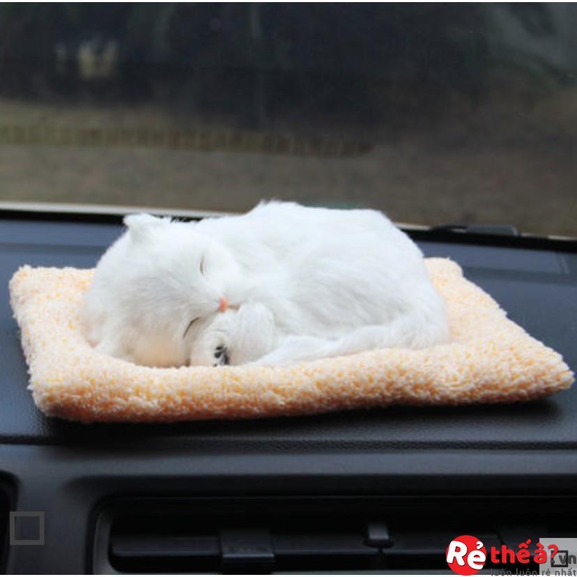 Mô hình thú cưng trang trí ô tô - Làm bằng than hoạt tính cao cấp