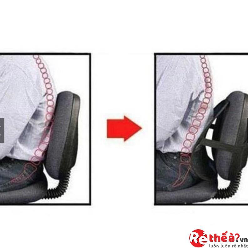 Tấm dựa lưng ghế ô tô - ghế văn phòng chống mỏi lưng cao cấp