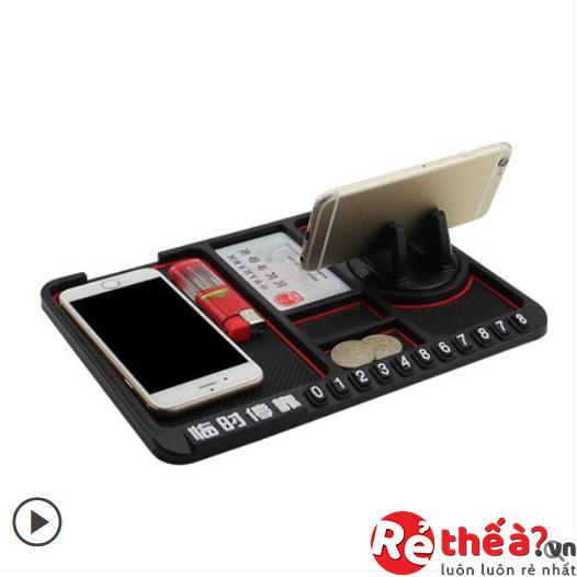 Thảm chống trượt đa năng để điện thoại trên ô tô