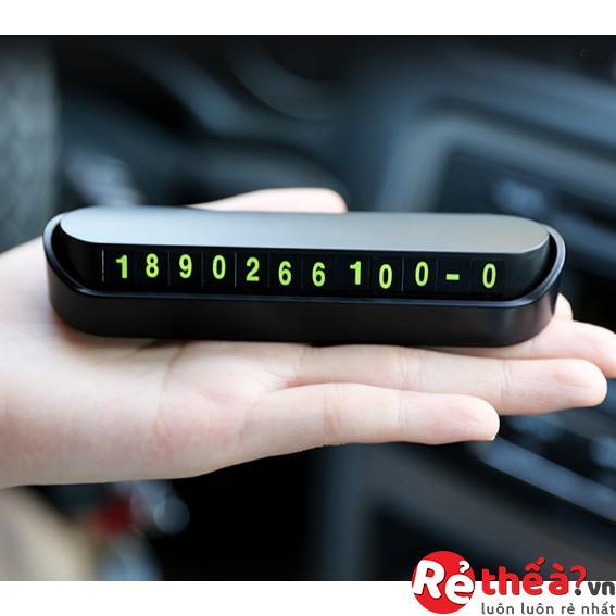 Thẻ số điện thoại đỗ xe ô tô BULGRAN cao cấp