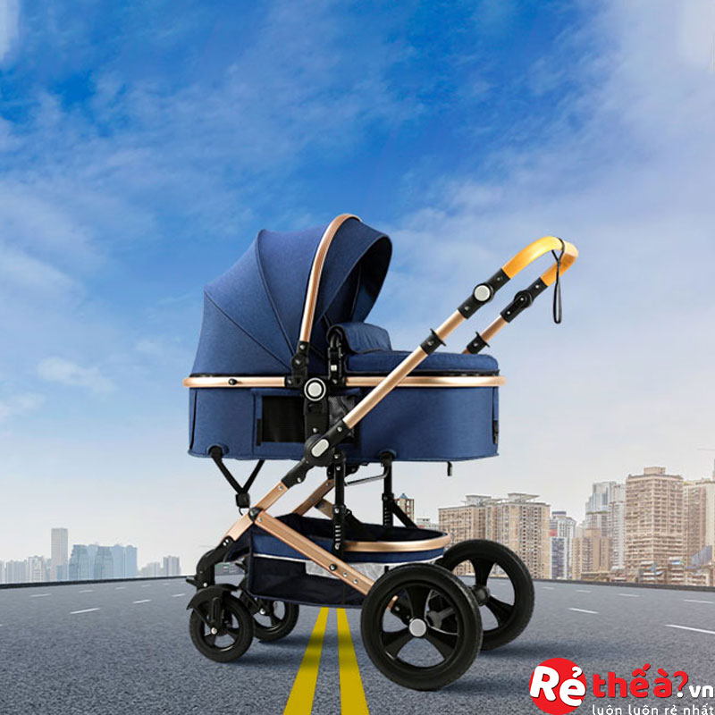 Xe đẩy đa năng cao cấp cho bé CHILUX-XT01