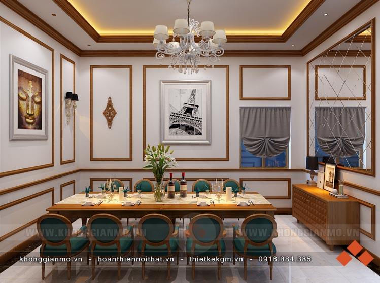 Thiết kế nội thất nhà hàng Sơn Cước