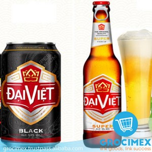 Dai Viet Beer From Vietnam / Lager Dai Viet Beer Bottle 450ml
