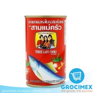 Canned Mackerel in Tomato sauce 155gr