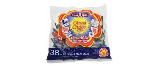 Chupa Chups Lollipops tongue painter 38pcs