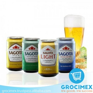 Sagota Light Beer 4% AVB 330ml