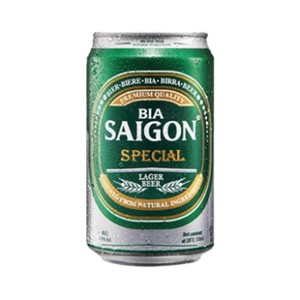 Sai Gon Beer 4.9% ABV 330ml