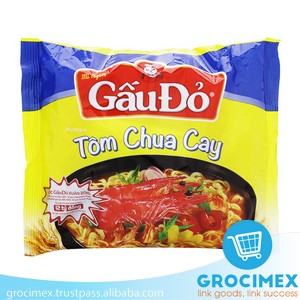 Gau Do Instant Noodles Sour and Hot Shrimp Flavor