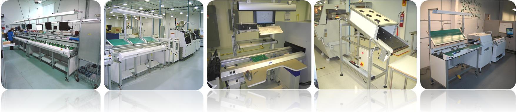 Dây chuyền PCB, SMT & băng tải Unloader