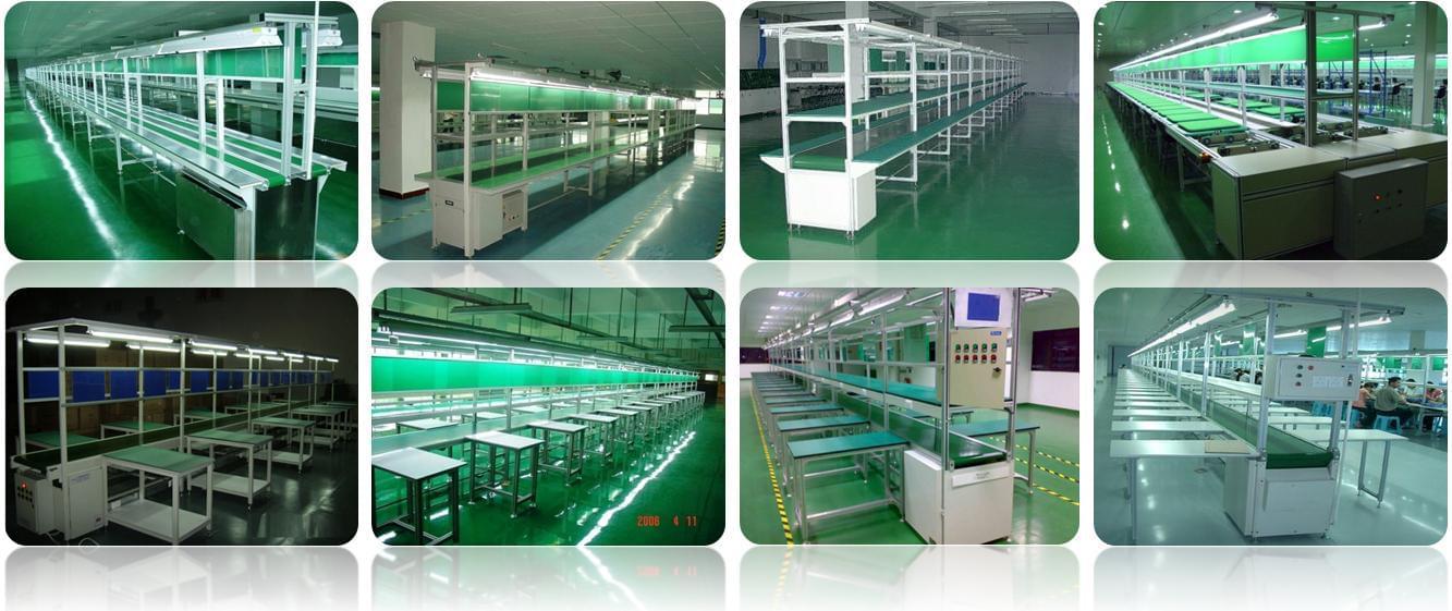 băng tải lắp ráp & Test linh kiện ( Assembly line conveyor)