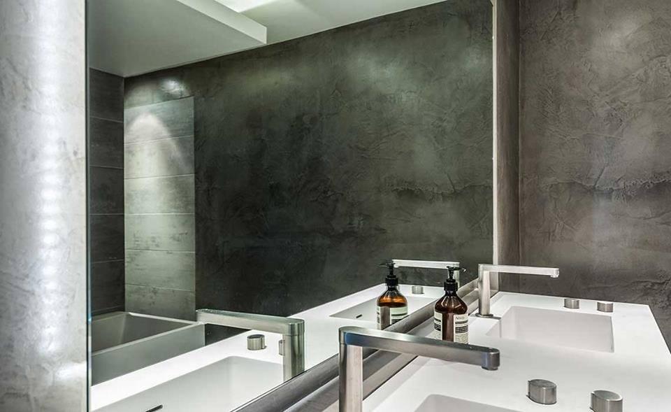 Bê tông trang trí ngày càng phổ biến tại các công trình kiến trúc.