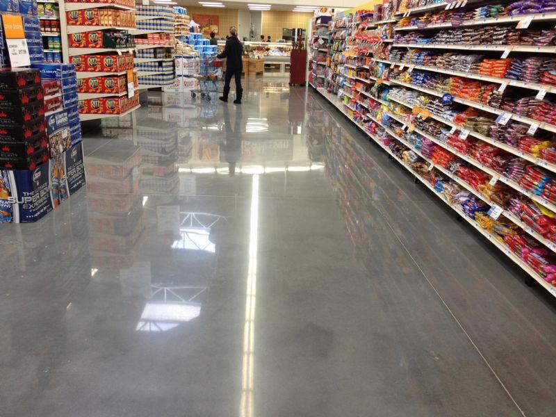 Chuyên mài sàn bê tông siêu thị chất lượng uy tín
