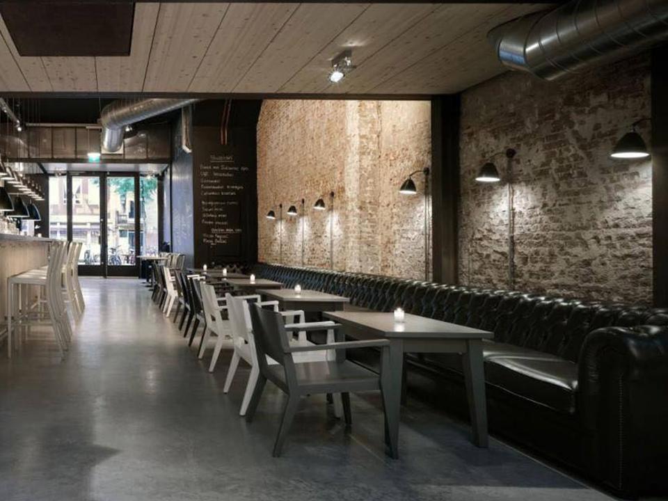Mài sàn bê tông nhà hàng