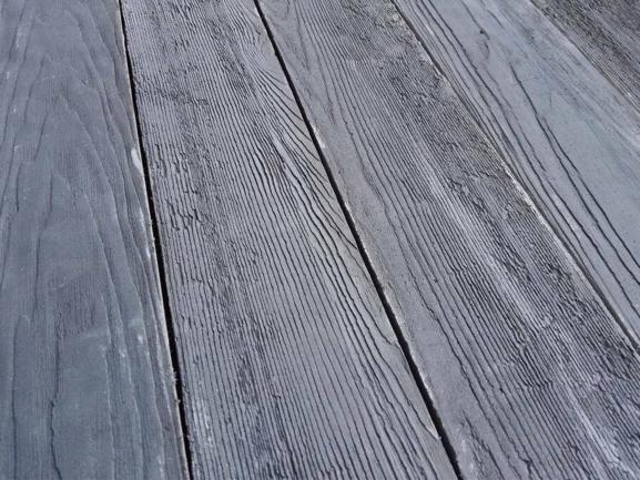 Gạch bê tông vân gỗ Nghề Sơn - Chất cảm mới của vật liệu giả gỗ