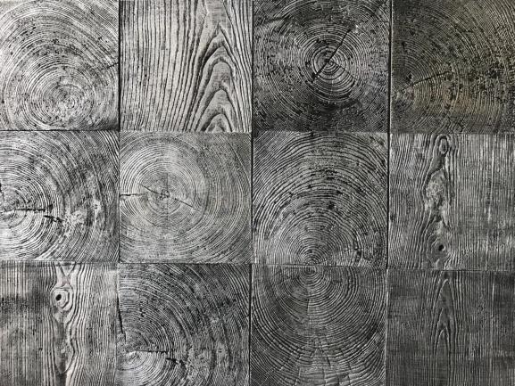 Gạch bê tông vân gỗ Nghề Sơn để thô