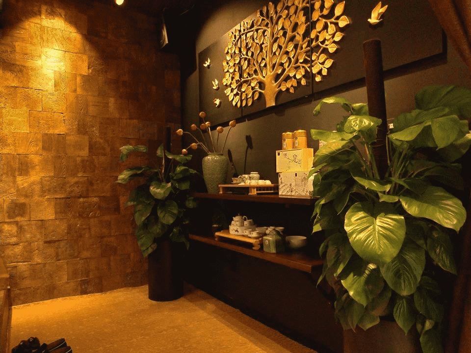 Trang trí tường với bê tông ứng dụng