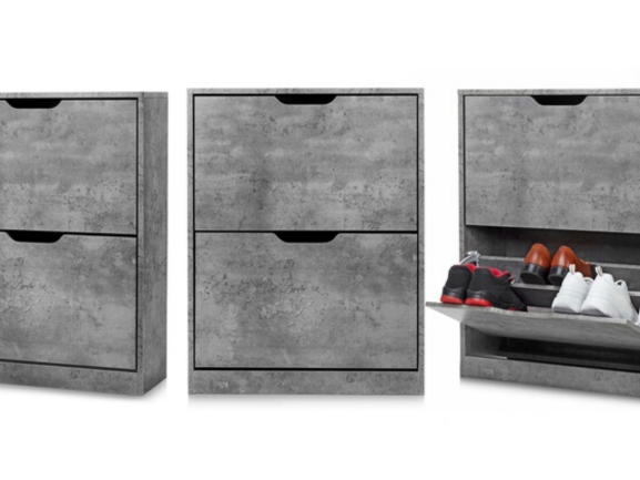 Tủ giầy gỗ bê tông