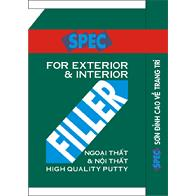 Bột bả Spec Filler Int & Ext 40kg