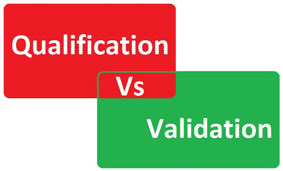 Khác biệt giữa Qualification and Validation?