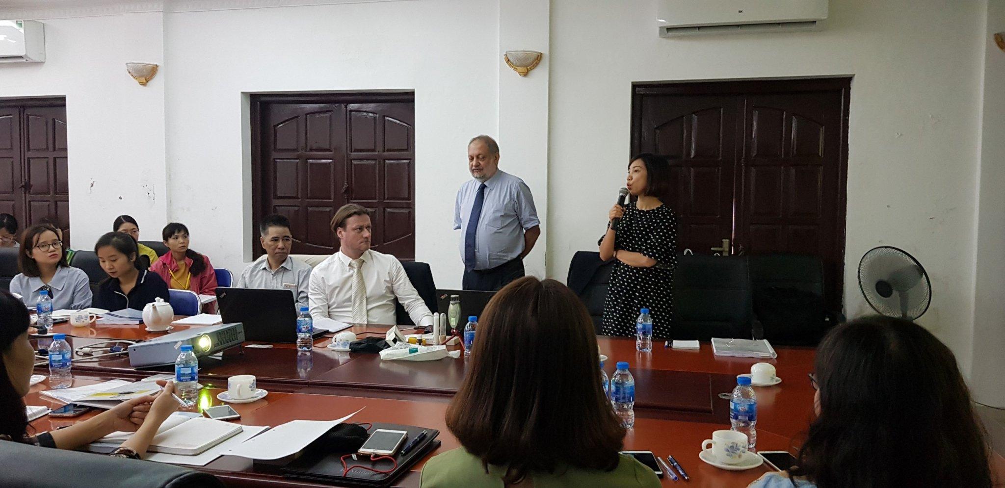 Đào tạo GMP EU tại Pharbaco 20-21/2/2019