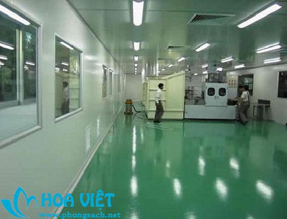 Phòng sạch sản xuất thiết bị điện tử - Công ty Quán Tiệp