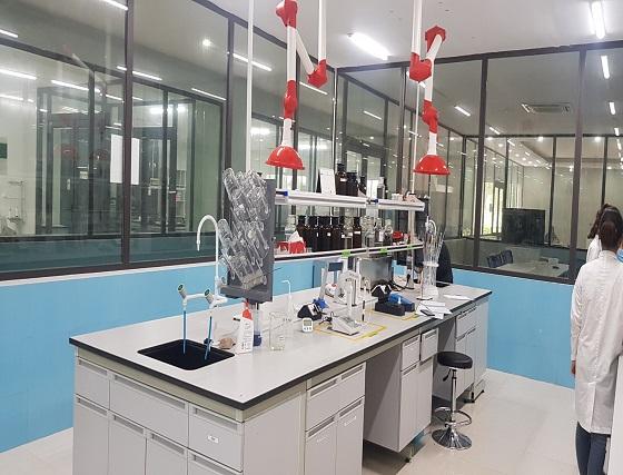 Thi công phòng thí nghiệm sợi - Dệt Bảo Minh