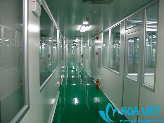Phân xưởng sản xuất thuốc - Dược phẩm Minh Dân