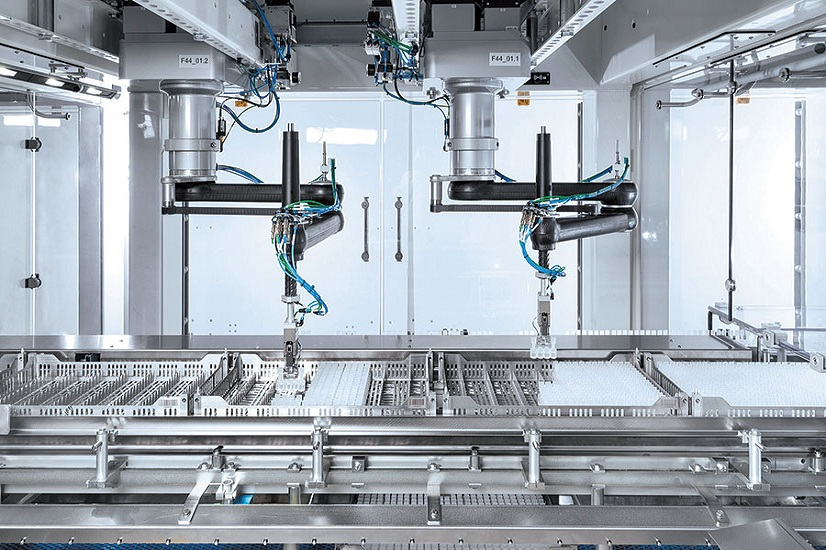 Giải pháp Robot trong sản xuất Dược phẩm