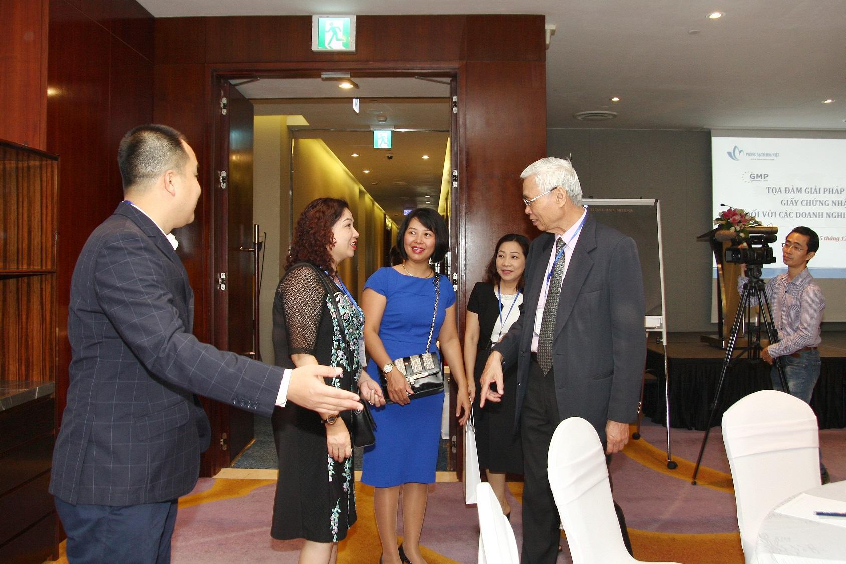 Tọa đàm GMP EU 2018 tại Hà Nội
