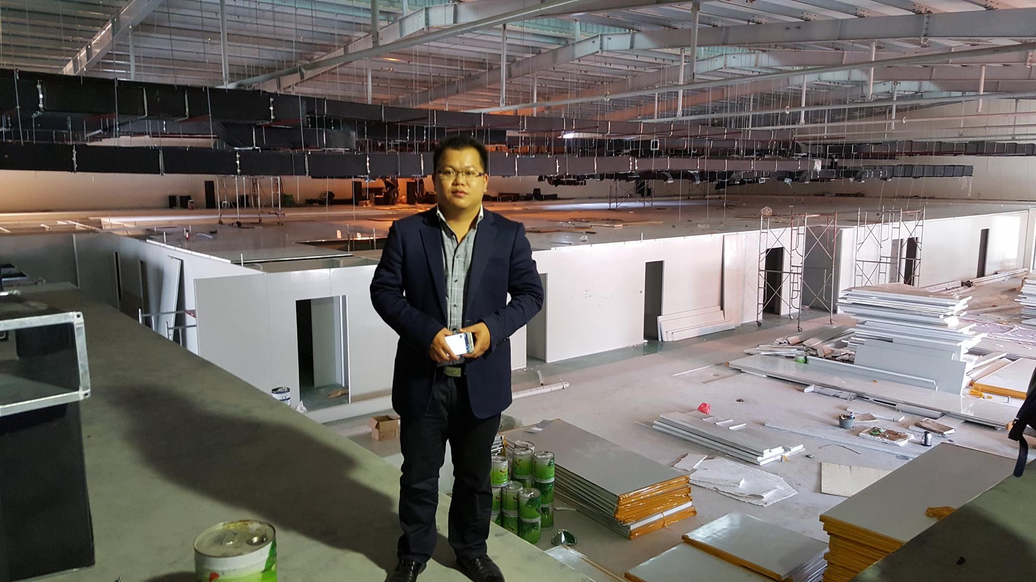 Kỹ sư LuoPeng - thiết kế công trình