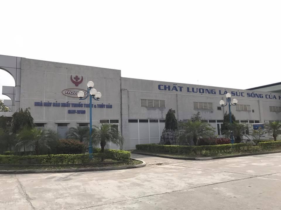 Nhà máy sản xuất vắc xin - Dược phẩm Hanvet
