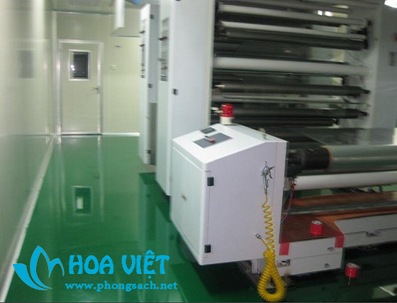 Phòng sạch cho sx điện tử cấp 10.000 - Công ty Hoa Công, Vũ Hán
